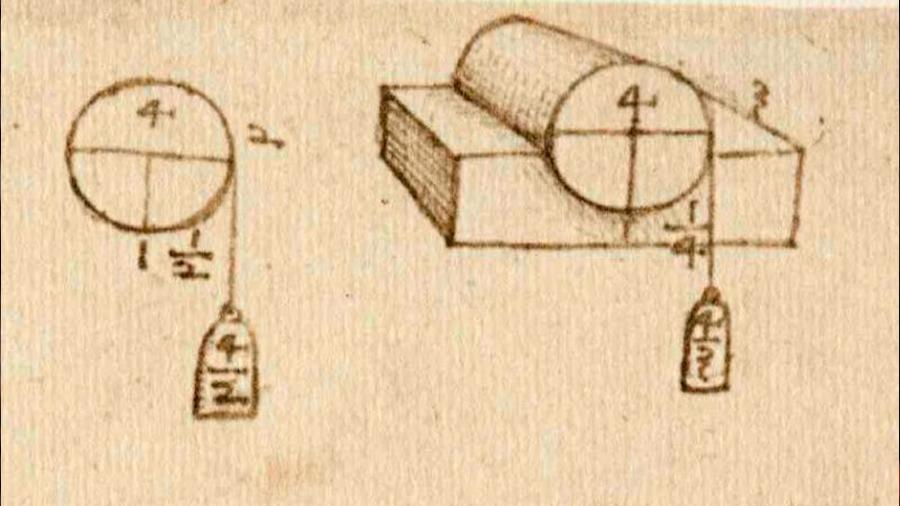 Leonardo Da Vinci, reconsiderado en su vigente teoría de la fricción