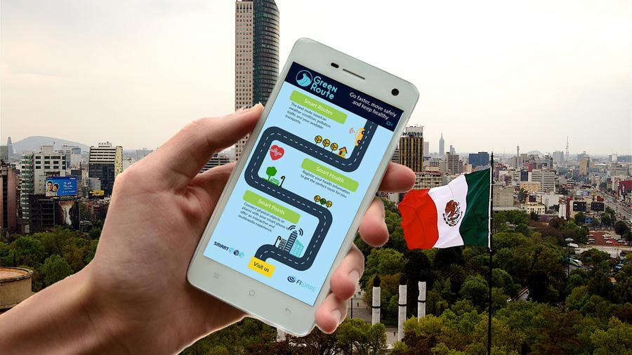 Crean app de rutas verdes para ciudades