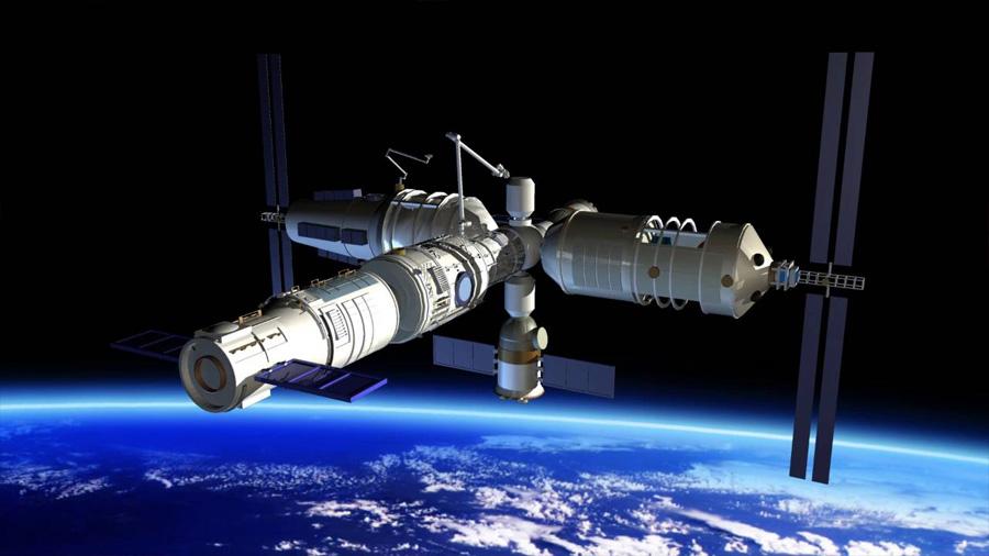 La estación china Tiangong 1 caerá a la Tierra entre el 29 de marzo al 9 de abril