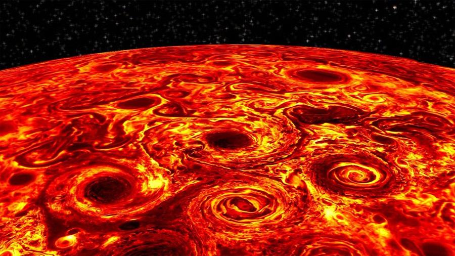 Juno revela nuevos secretos de las misteriosas profundidades de Júpiter