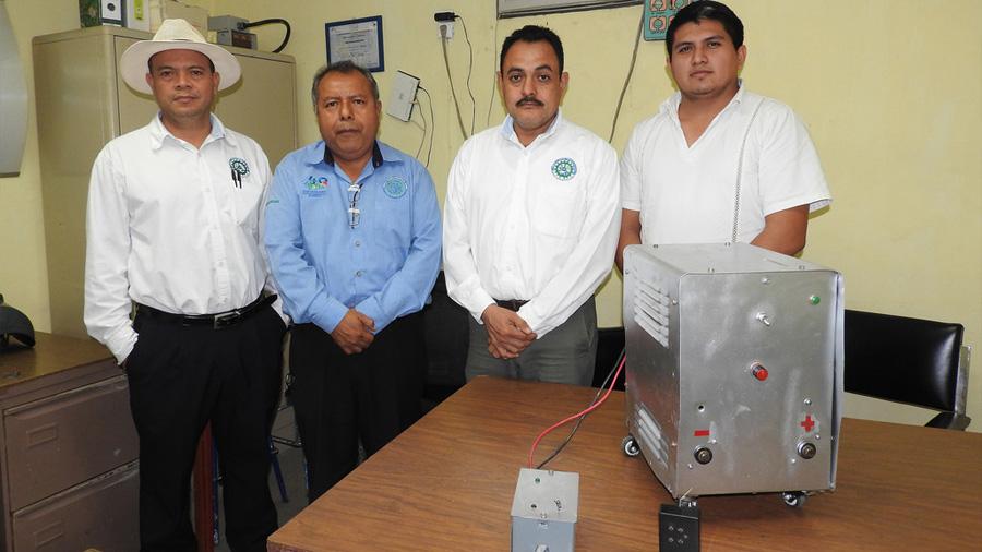 Desarrolló equipo de ingenieros soldadora a control remoto que brinda dos patentes a institución académica