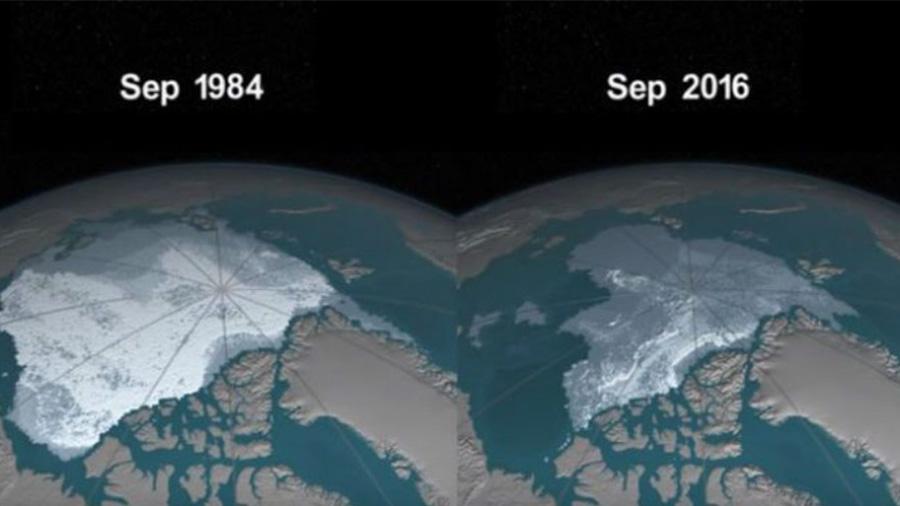 NASA muestra cómo podría desaparecer el hielo del Ártico [VIDEO]