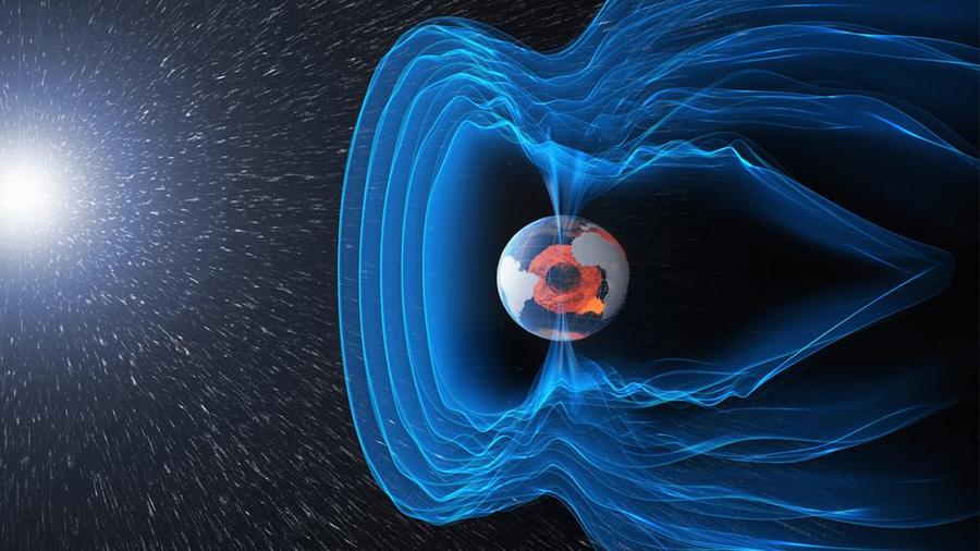 Descubren por qué se debilita el campo magnético terrestre