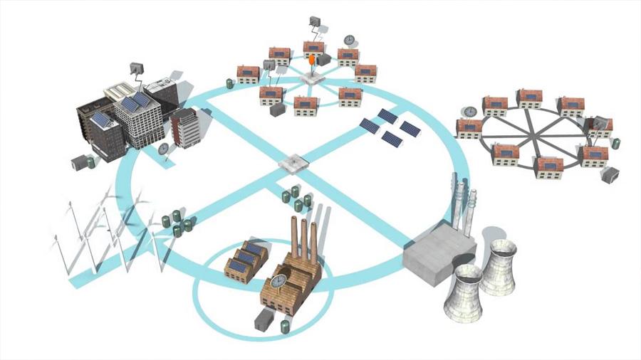 Redes eléctricas futuras: redes creando redes