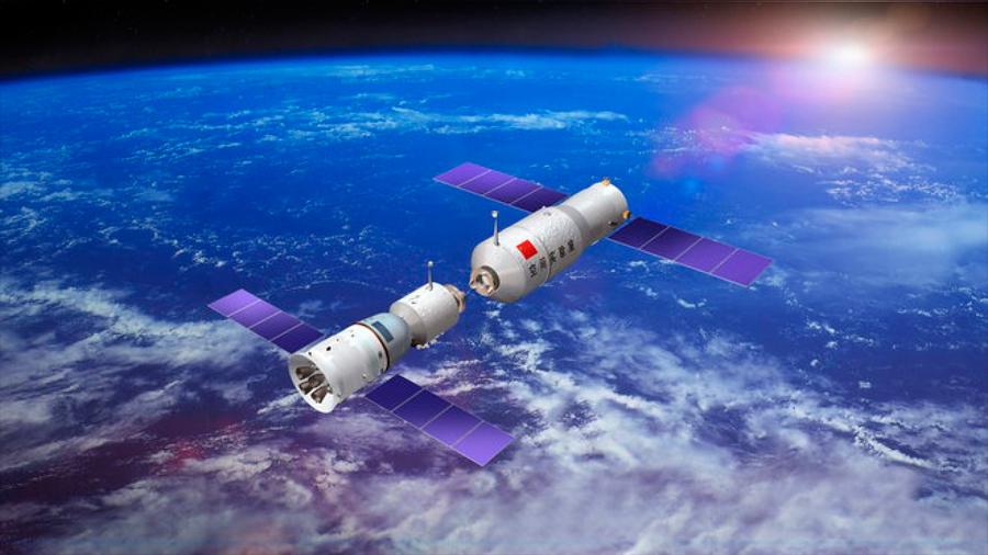 La estación Tiangong 1 caerá a la Tierra del 30 de marzo al 6 de abril