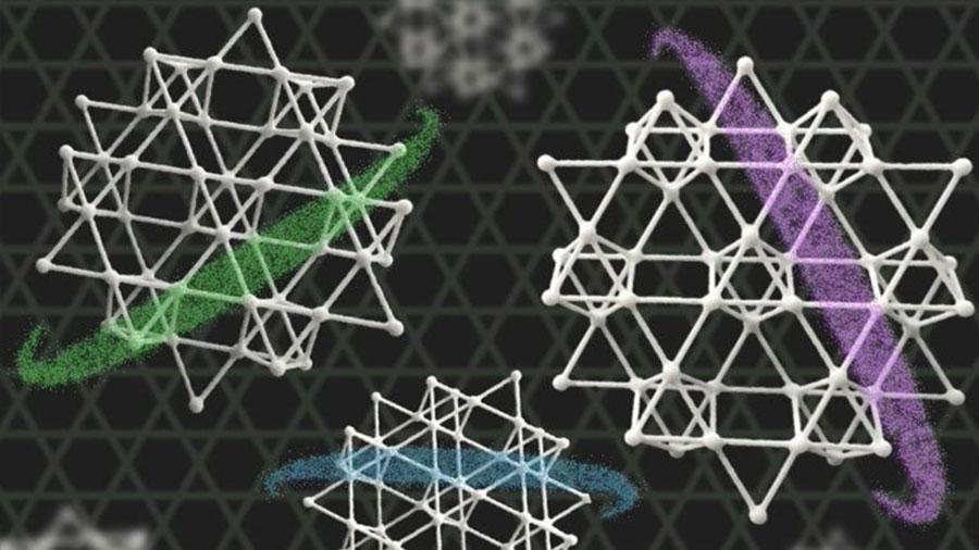 Cestería japonesa inspira un nuevo material electrónico cuántico