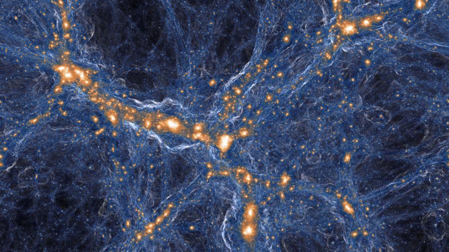 La mayor simulación de la formación de galaxias bate su propio récord