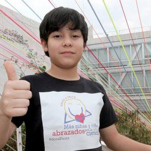 Estudiante mexicano de once años diseñó molécula antioxidante