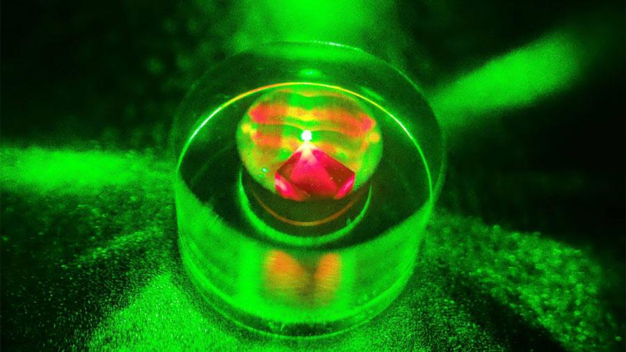 Creado un 'láser' de microondas que funciona a temperatura ambiente