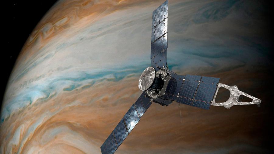 """Capta nave Juno de la NASA el fenómeno de el """"fantasma"""" en Júpiter"""