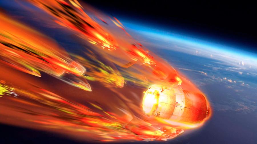 ¿Qué deberías hacer si encuentras un trozo de la estación espacial china Tiangong-1?