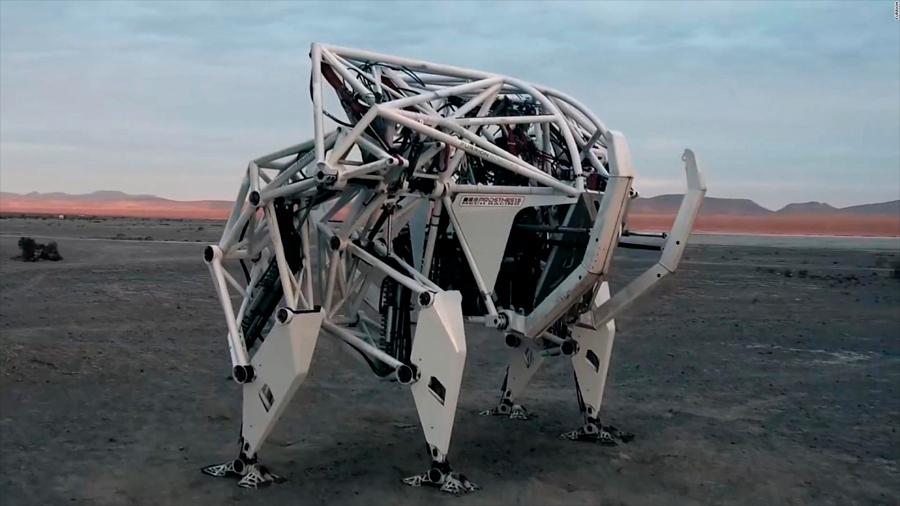 """Nuevo exoesqueleto """"Prosthesis"""" de Furion: el robot para un nuevo deporte"""