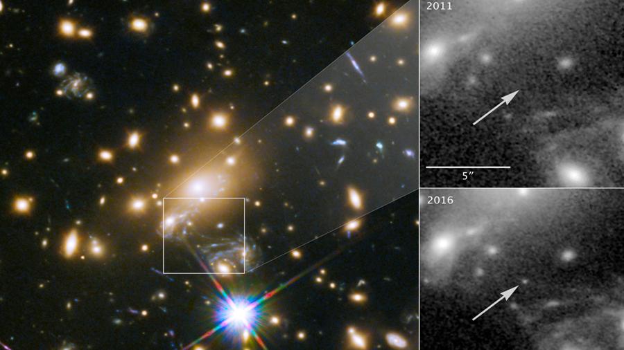 Hallan Ícaro, la estrella más lejana jamás observada a 9 mil millones de años luz