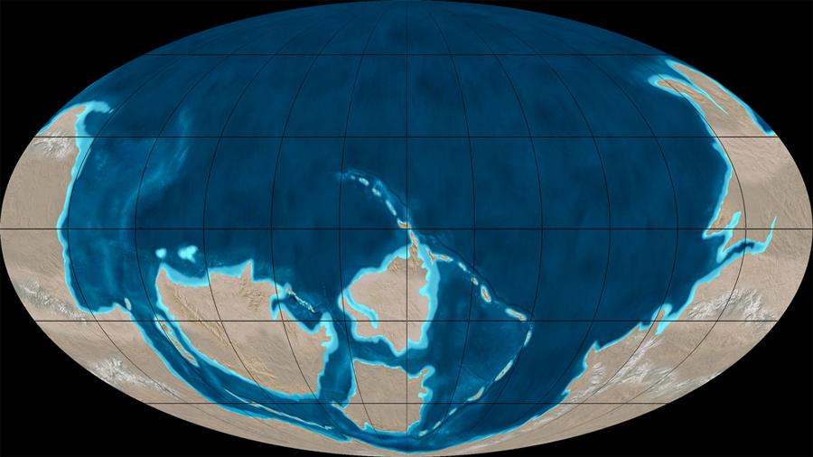 Nuevas pistas confirman que el supercontinente Pannotia existió