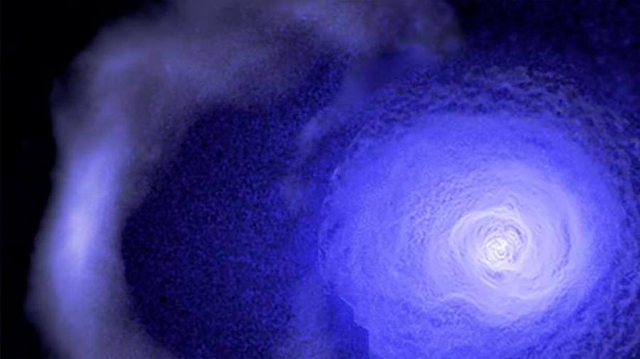 """Detectan un """"tsunami"""" cósmico arrasando el espacio a 500.000 kilómetros por hora"""