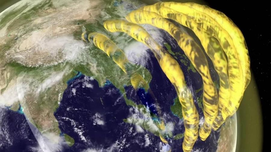 Investigadores hallan evidencias de gigantescos tubos de plasma sobre la atmósfera terrestre