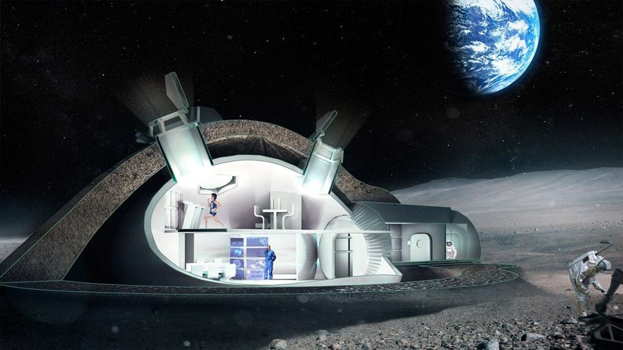 Japón diseña colonias espaciales para poblar a la Luna