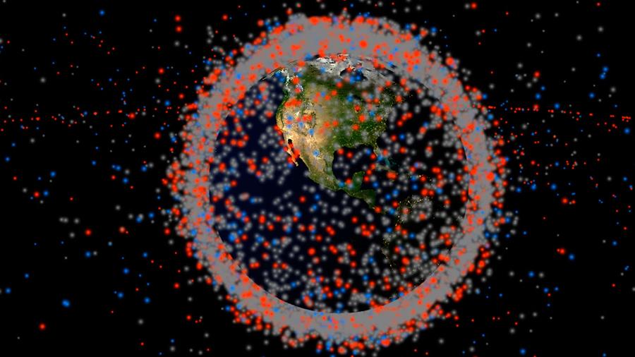 Consulta todos los objetos artificiales y basura espacial que orbitan la Tierra en una simulación web