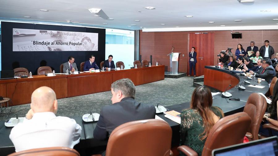 Senado analiza diversas iniciativas para fortalecer e incentivar el ahorro popular