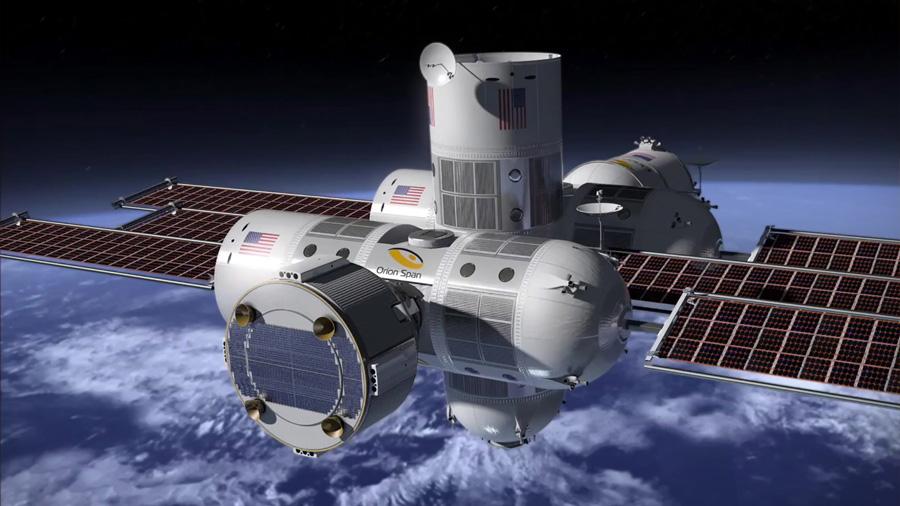El primer hotel espacial de lujo abrirá en 2022