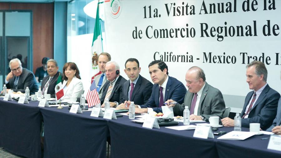 Recibirá Senado a integrantes de la Cámara de Comercio Regional de San Diego