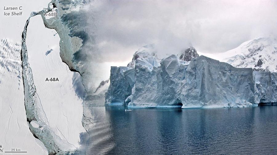 Científicos exploran una zona hasta ahora desconocida de la Antártida