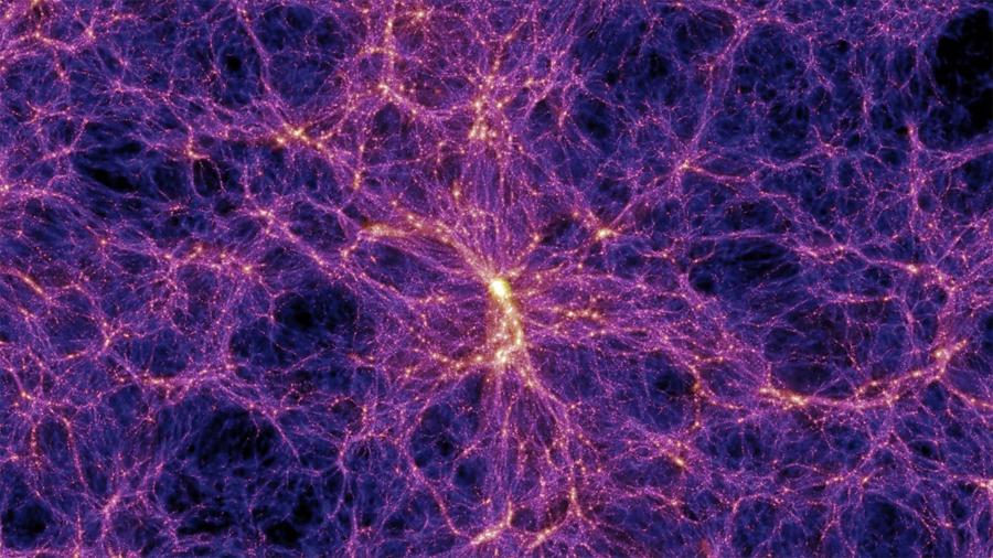"""Revelan dónde están y cómo son los filamentos de la """"telaraña cósmica"""""""