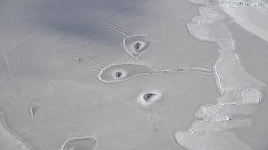 Detecta la NASA unos agujeros nunca vistos en Ártico