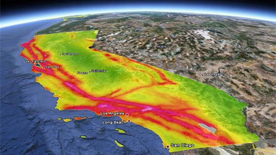Esto es lo que pasaría si tuviera lugar el gran terremoto de San Francisco