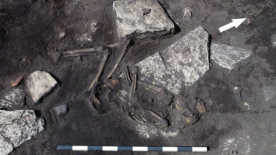 Descubren una masacre de la Edad Media congelada en el tiempo