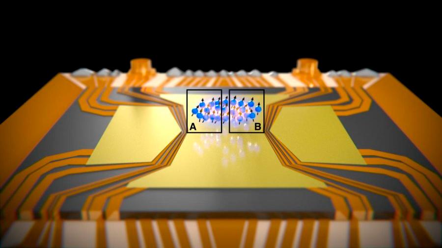 Observada una paradoja de mecánica cuántica en cientos de átomos