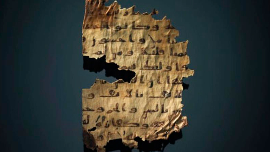 Un investigador halló un pasaje de la Biblia en un manuscrito del Corán del siglo VIII