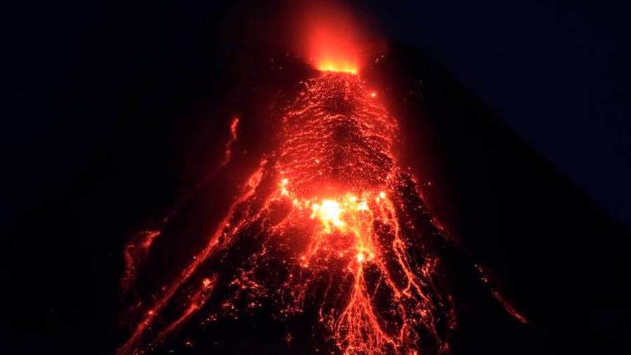 """Los volcanes se """"apagaron"""" durante 100 años"""