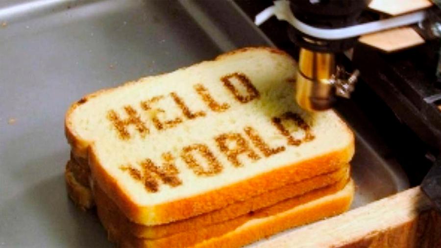 Inventan una impresora 3D que personaliza los alimentos