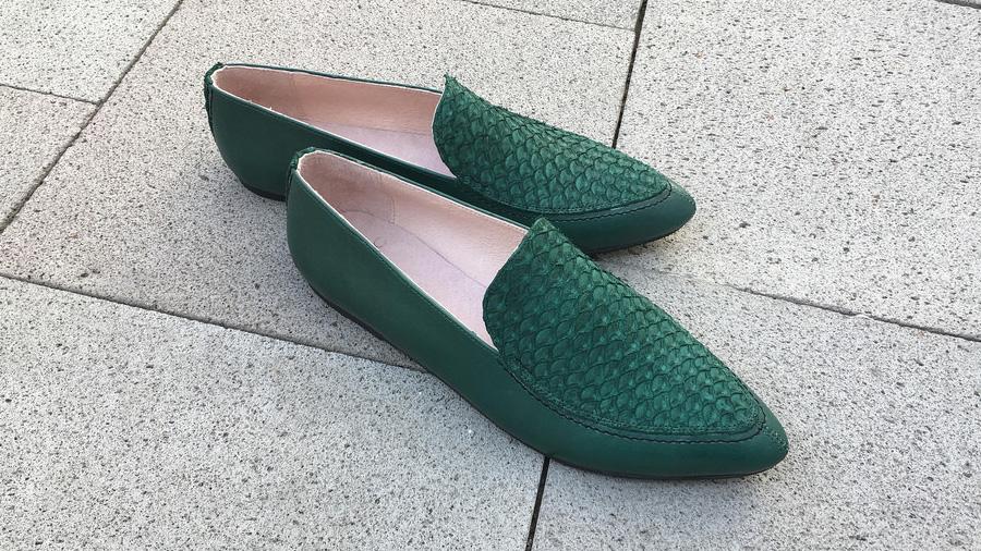 Diseñaron científicos mexicanos tecnología para curtir piel de pescado y aprovecharla en zapatos y otros artículos