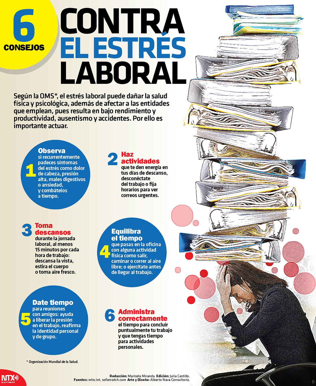 6 consejos contra el estrés laboral