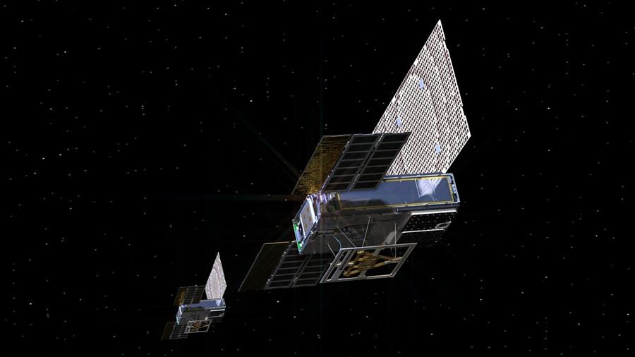 Los primeros CubeSats en el espacio profundo saludan a la Tierra