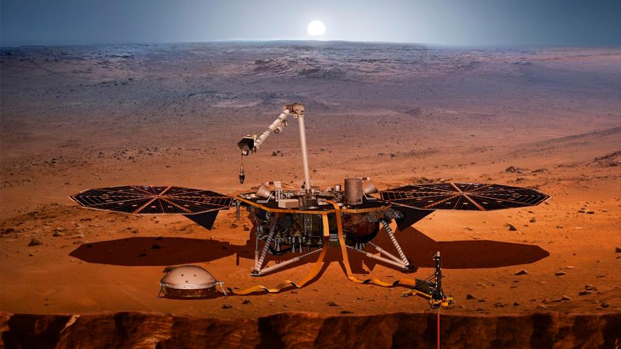 """Así es """"Insight"""", la misión que tomará el pulso de Marte"""