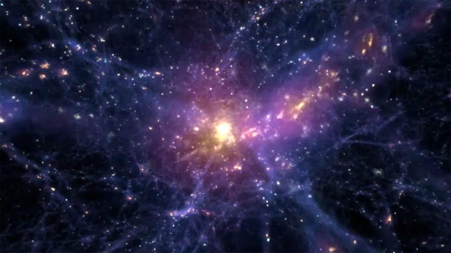 Una galaxia sin materia oscura pone en duda su rol en la formación de estructuras