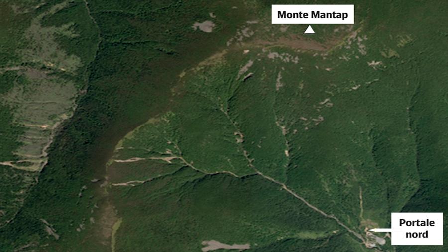Una montaña se desplazó 3 metros por una prueba nuclear norocoreana