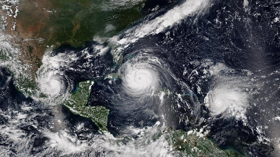 Los grandes huracanes se forman más rápido hoy que hace 30 años
