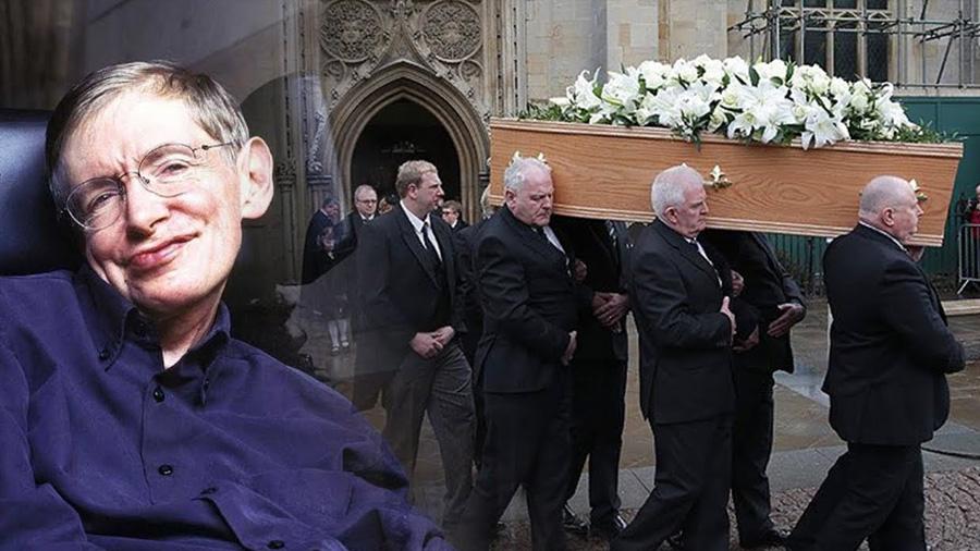 Inscripción a funeral de Stephen Hawking (15 de junio) abierta a personas del futuro: nacidas en 2038