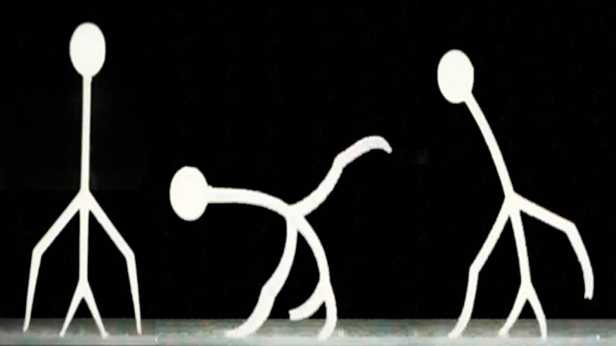Un gel inteligente impreso en 3D 'camina' bajo el agua y coge objetos