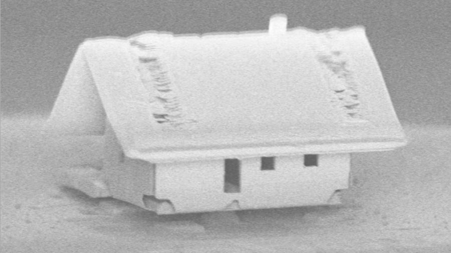 Ensamblaje robótico para la casa más pequeña del mundo