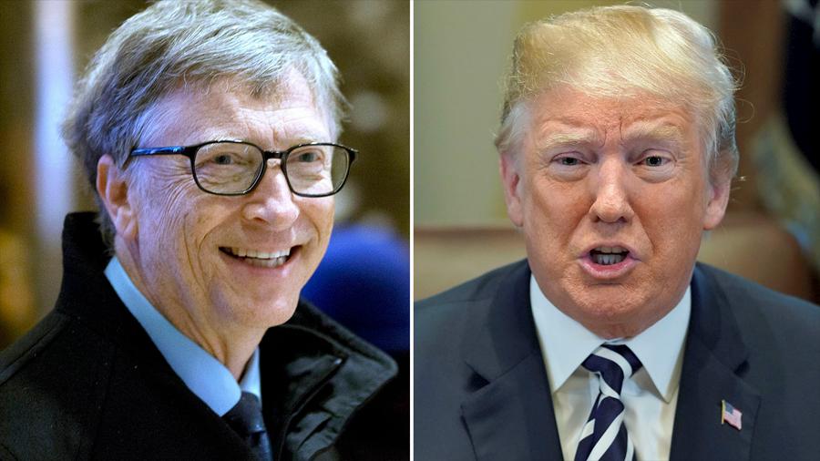 Bill Gates se ríe de Trump y ésta es la razón