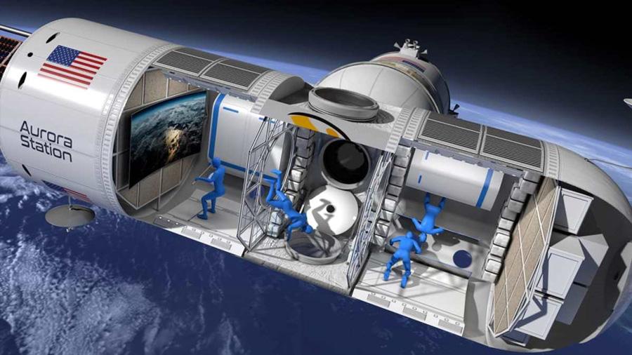 Ya podemos ir al espacio y disfrutar de un hermoso hotel de lujo con vista a la Tierra