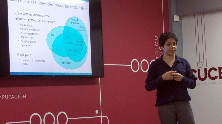 Destaca científica mexicana en GB en el entendimiento de la mecánica de la piel con fines médicos