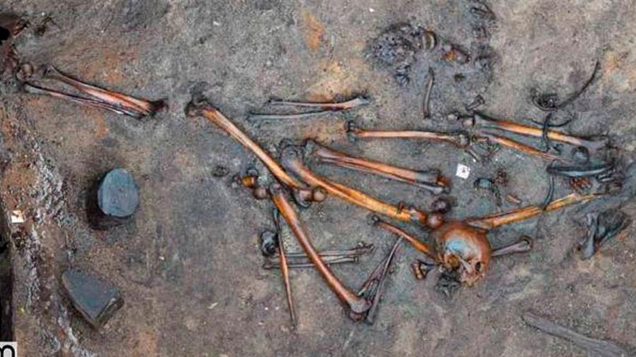 Hallan en Dinamarca los macabros restos de una batalla bárbara desconocida