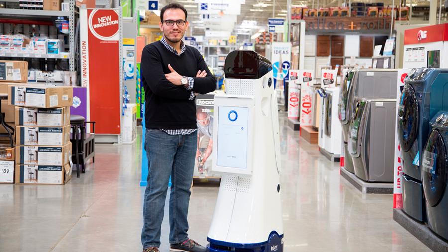 Un mexicano y un astronauta crean empresa de autómatas que llevan al día el inventario de los negocios minoristas
