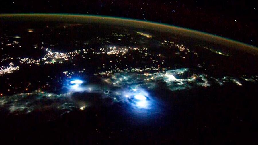 Relámpagos desde el espacio: primeras imágenes satelitales de este impactante fenómeno natural
